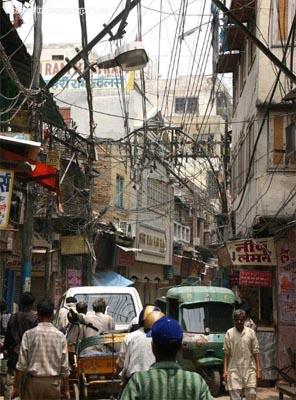 Telecommunications - Indian style. Indian spaghetti?