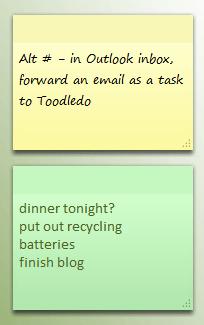 2 Windows Sticky Notes