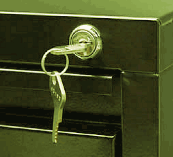 Filing Cabinet with Lock