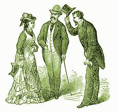 Victorians being polite