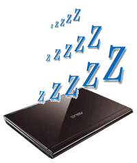 Sleepin Laptop