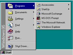 Windows 95 Start Button