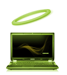 Computer with Halo