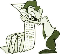 Cartoon of a long list