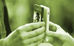 Exchanging data via NFC