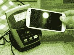 NFC - Swiping a mobile phone