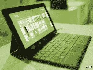 Windows Surface computer