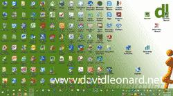 Windows Desktop - Cluttered