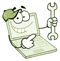 cartoon of PC Repair Man